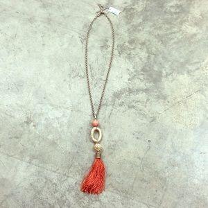 NWT Chico's Celina Tassel Necklace